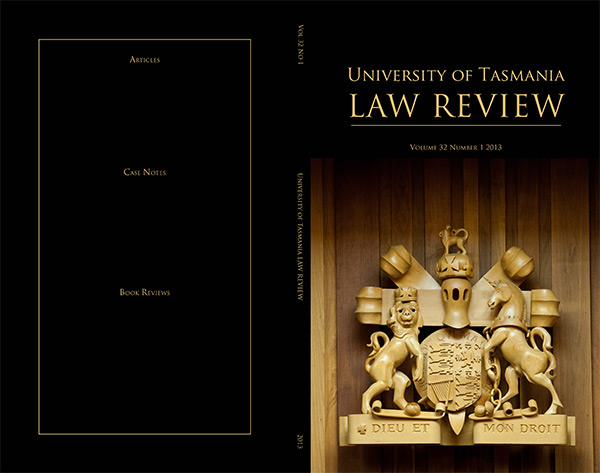 UTAS law review